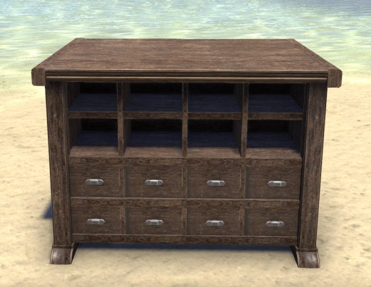 High Elf Counter, Polished Drawers