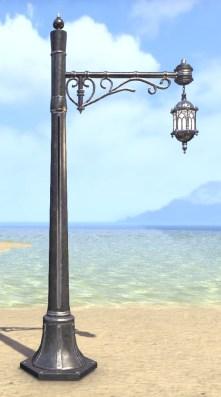 High Elf Streetlight, Wrought Iron