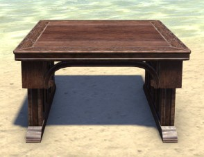 High Elf Table, Noble Intimate