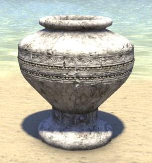 High Elf Urn, Limestone Large