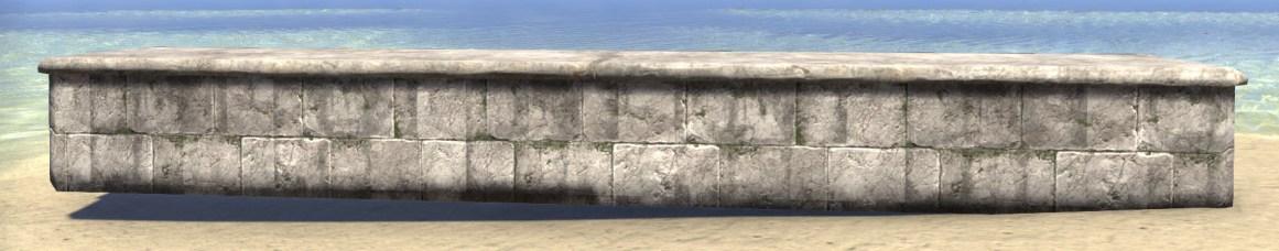 Limestone Retaining Wall, Long