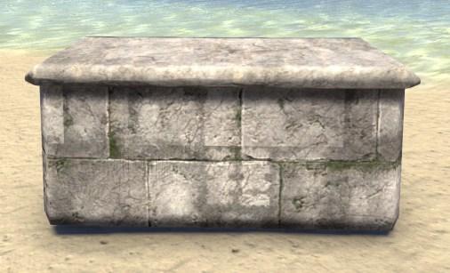 Limestone Retaining Wall, Short