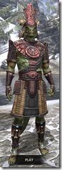 Elder Argonian Heavy - Argonian Male Front