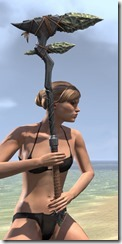 Elder Argonian Iron Battle Axe 2