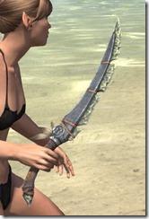 Elder Argonian Iron Dagger 2