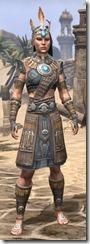 Elder Argonian Rawhide - Female Front