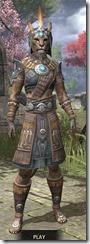 Elder Argonian Rawhide - Khajiit Female Front
