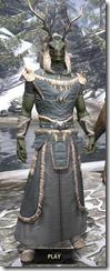 Huntsman Homespun - Argonian Male Robe Front