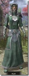 Silver Dawn Homespun - Khajiit Female Robe Front