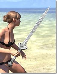 Silver Dawn Iron Sword 2