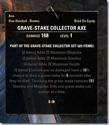 Sweet Breeze Overlook Grave-Stake Collector