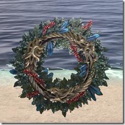 Winter Ouroboros Wreath 1