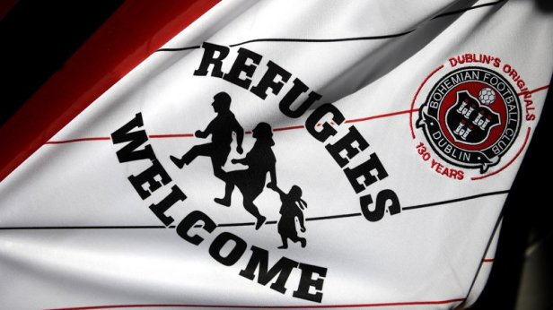 Bohs' 'Refugees Welcome' kit may be used against team of Hungry's  anti-immigration Prime Minister - Dublin's FM104