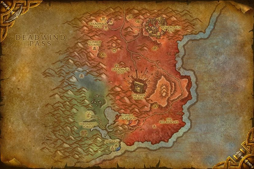 Wow Eastern Kingdoms Map