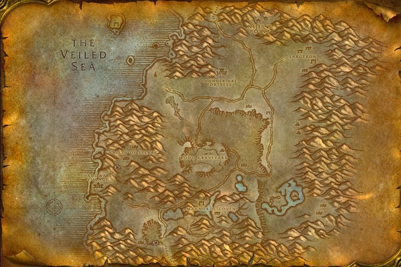 Shadowbreak Ravine Desolace Map ID 405 WotLK