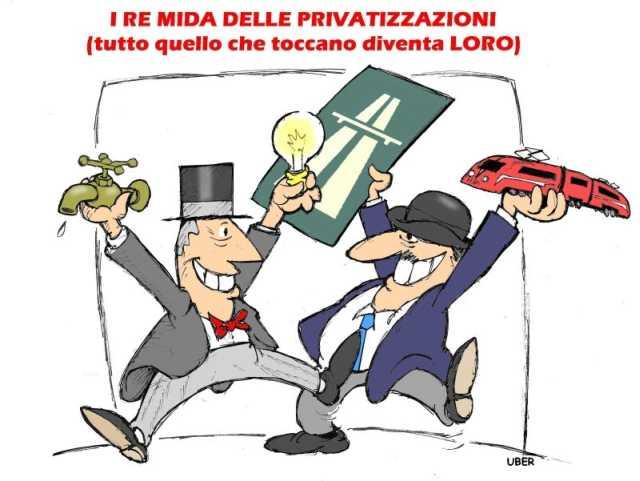 Non dobbiamo privatizzare