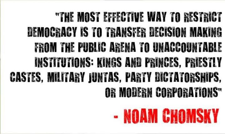 Ossimoro: democrazia neoliberista