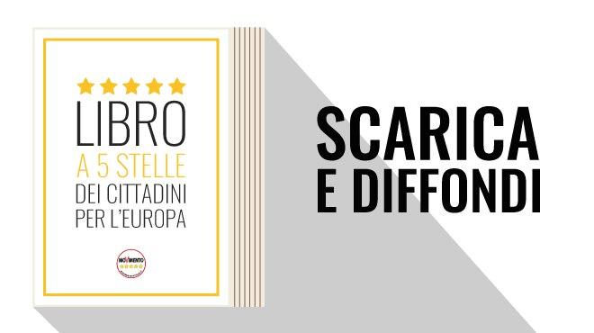 Libro a 5 Stelle dei Cittadini per l'Europa