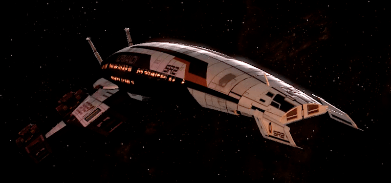 Normandy SR2 (Mass Effect 2 e 3)
