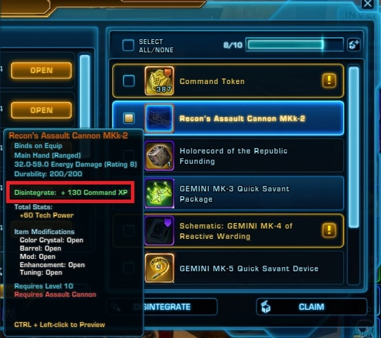 SWTOR PvP Gearing Guide – MMO Bits