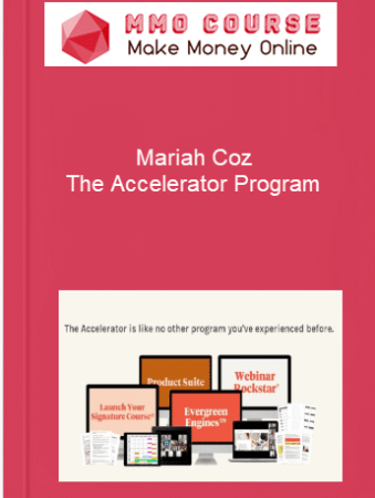[object object] Home Mariah Coz The Accelerator Program