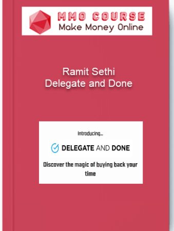 [object object] Home Ramit Sethi Delegate and Done