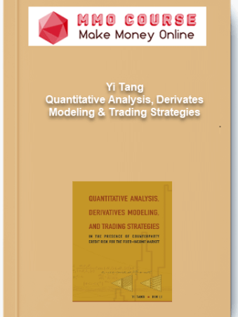 [object object] Home Yi Tang     Quantitative Analysis Derivates Modeling Trading Strategies