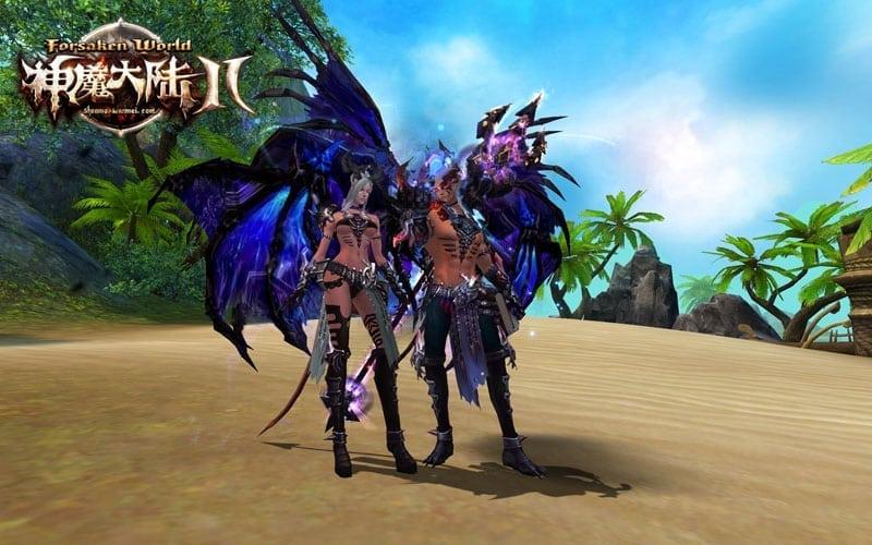 Forsaken World 2 More Details On The Upcoming Demon Race