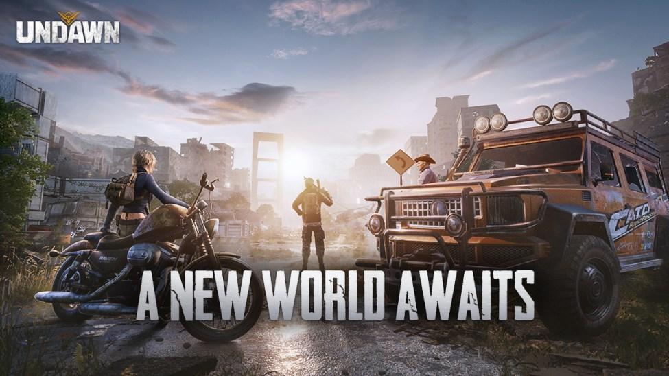 Undawn PUBG Mobile Studio, yeni mobil + PC hayatta kalma oyununu duyurdu.