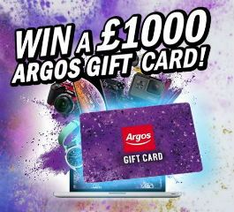 £1000 argos gift card means more fun for gamers