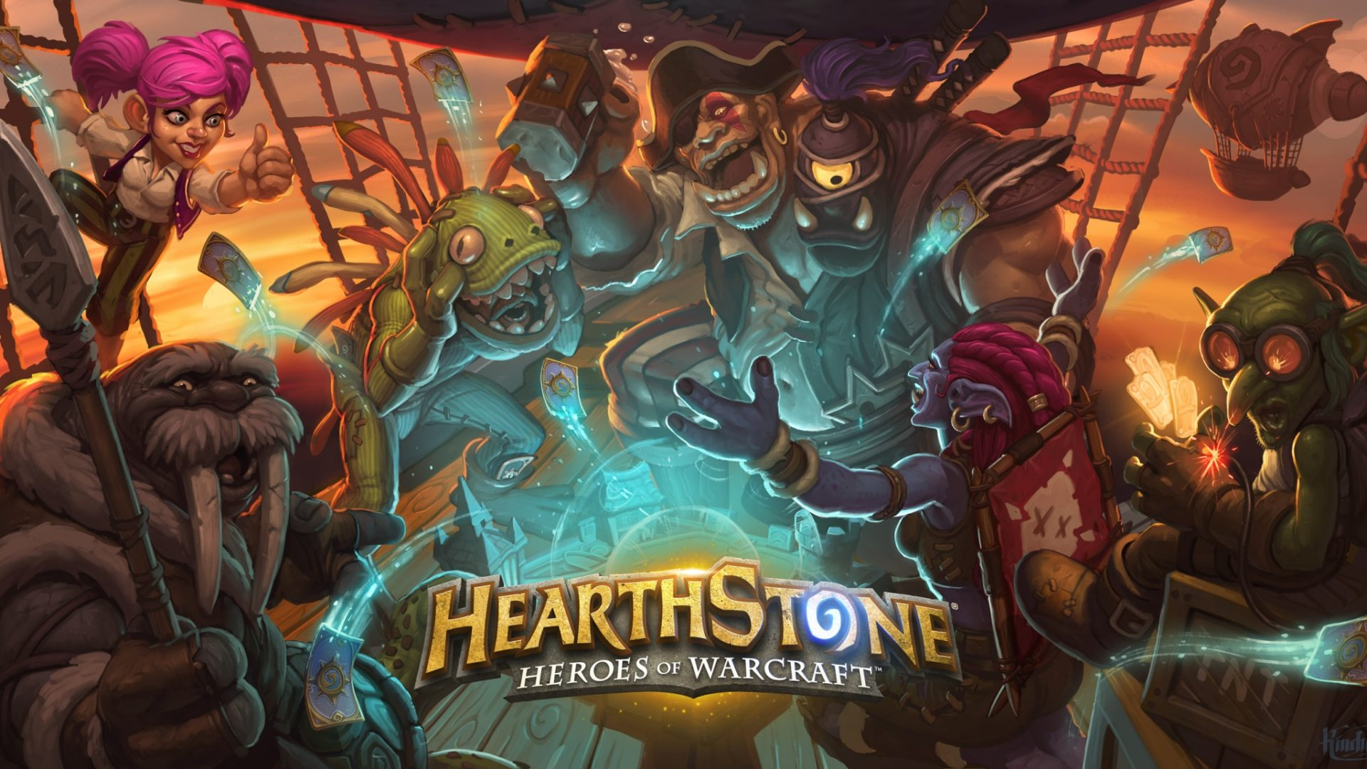 Hearthstone will get three card expansion packs in 2017