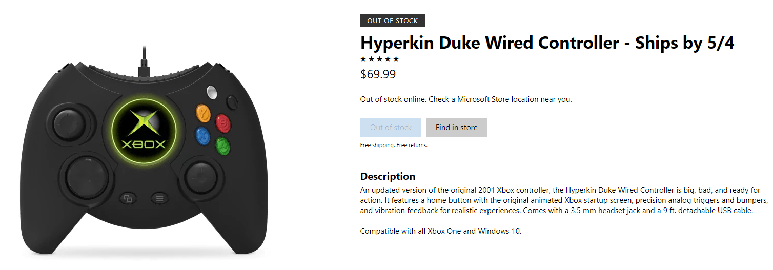 Not Massive] Gamestop Hyperkin Controllers Get Stuck In