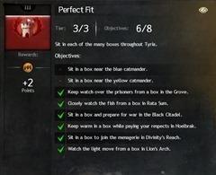(Hidden Achievement) Perfect Fit – 4 AP
