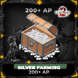 Silver Farming with AP 200++ ( Price each Billion )