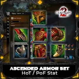 Ascended Armor Set HOT/POF Stat