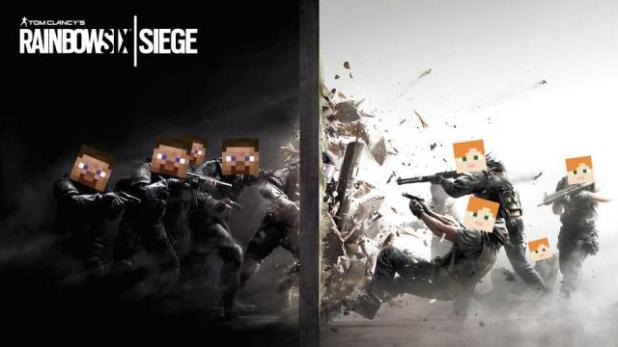 Download Six Siege Map for Minecraft 1.11.2 view (14344)