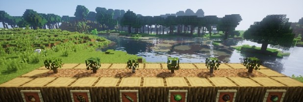 Download Dynamic Trees Mod of minecraft Change the Natural Growth of Trees [1.12.2-1.11.2] Mods for Minecraft