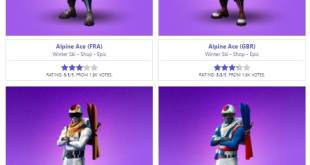 Fortnite Outfits list Fortnite 20 skins