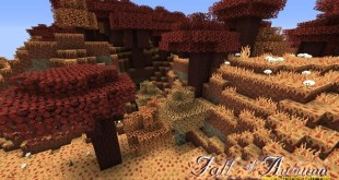 Fall of Autumn Resource Pack 1.8.1/1.8/1.7.10/1.7.2/1.6.4 – Mods – Download