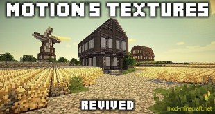 Motion's Textures REVIVED Resource Pack 1.7.4/1.7.2/1.6.4 – Mods – Download