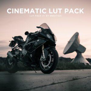 Cinematic Lut Pack/ 7 Luts + 1 Bonus Lut
