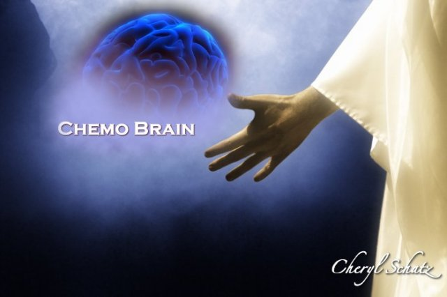 Jesus holds my chemo brain On the Path by Cheryl Schatz