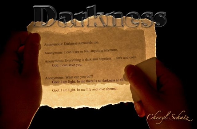 Darkness On the Path blog by Cheryl Schatz