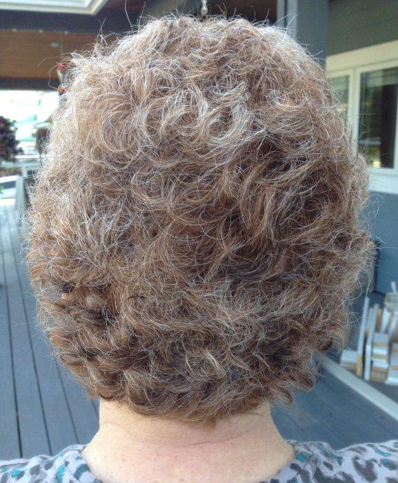 Chemo curls - On the Path blog by Cheryl Schatz