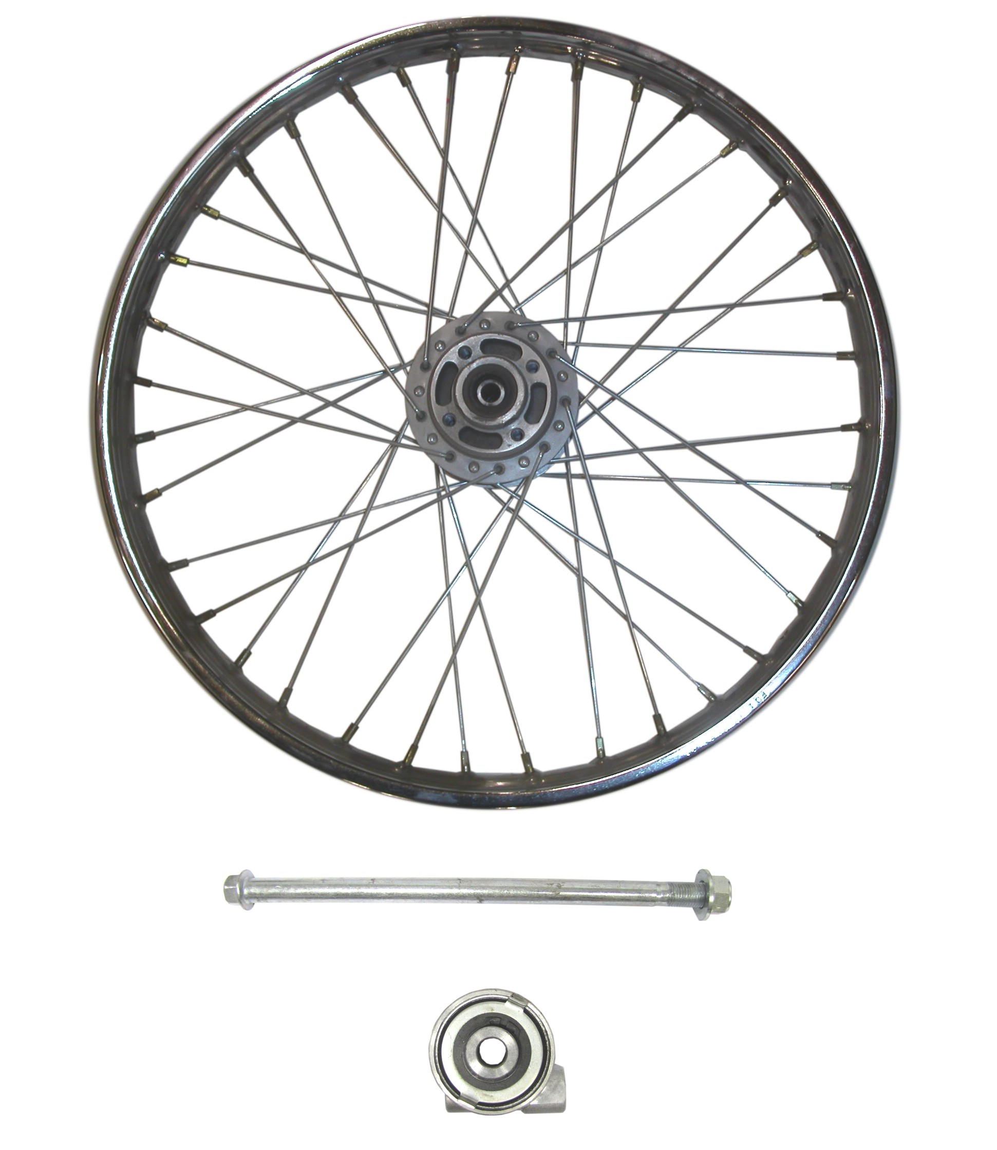 Front Wheel Cg125 Style Drum With Brake Plate Rim 1 40 X 18 Each