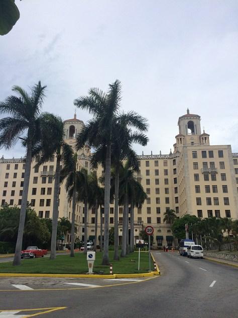 【キューバ】ホテルナショナルデキューバ外観