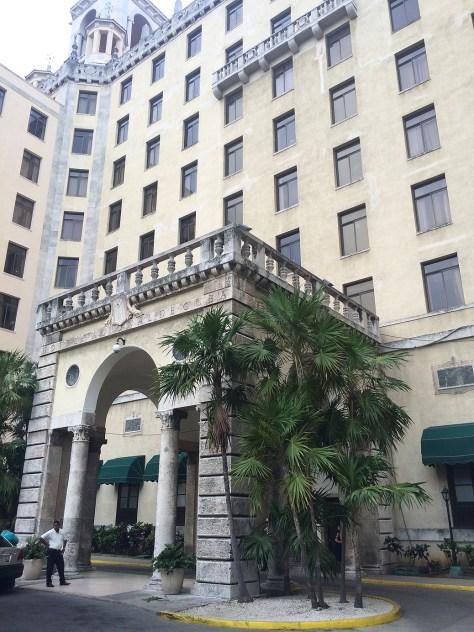 【キューバ】ホテルナショナルデキューバ入り口
