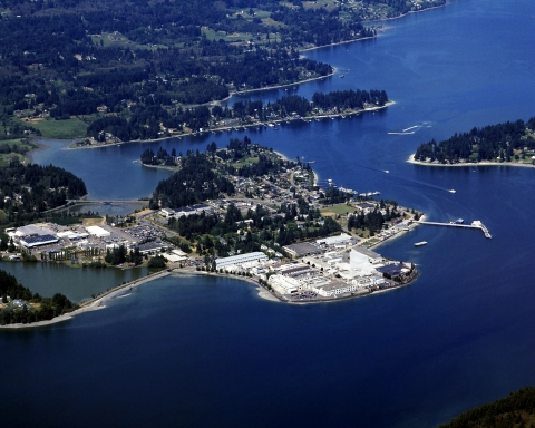 BAE Systems supports the Naval Undersea Warfare Center Keyport Division in Washington State with a range of services, helping to maintain the operational readiness of submarine torpedoes and other weapon systems. (Photo: BAE Systems)