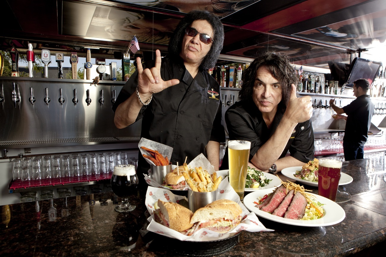 Image result for kiss gene simmons food images