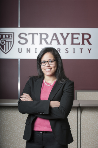 Yuriko Almonte, training manager and student success coach at Strayer University, will offer career...